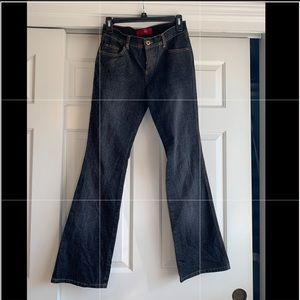 Glo bootcut jeans in dark denim